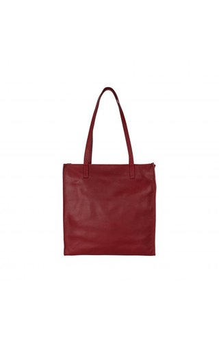 Baggyshop Paper bag bordeaux