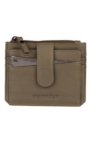 Burkely Minimal Mae Creditcard Wallet Dusty Olijf