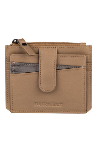 Burkely Minimal Mae Creditcard Wallet Taupe