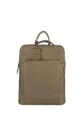 Burkely Minimal Mae Backpack Dusty Olijf