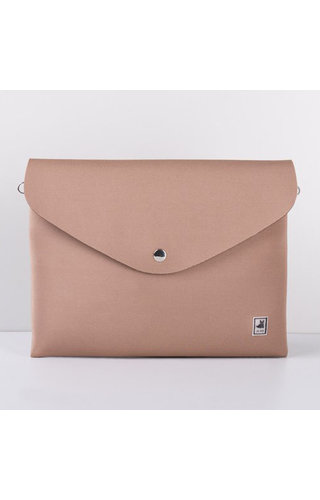 JU'STO J-Sole Clutch Neoprene Light Brown