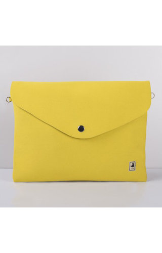 JU'STO J-Sole Clutch Neoprene Yellow