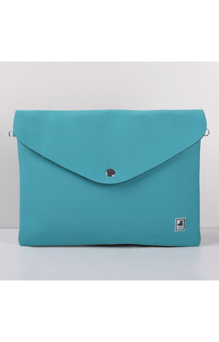 JU'STO J-Sole Clutch Neoprene Green Water