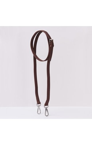 JU'STO Shoulder Strap Brown