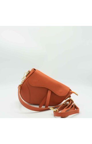 IT BAGS Inspired Saddle Bag Burnt Orange
