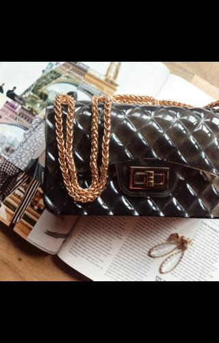 IT BAGS Inspired gummy bag black