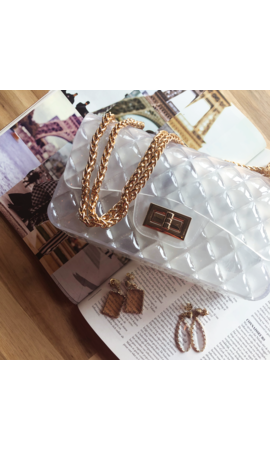 IT BAGS Inspired gummy bag white