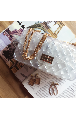 IT BAGS Inspired gummy bag white