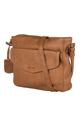 Burkely Just Jackie X-Over M Flap Cognac