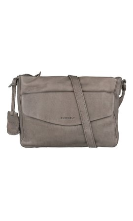 Burkely Just Jackie X-Over M Flap Grey