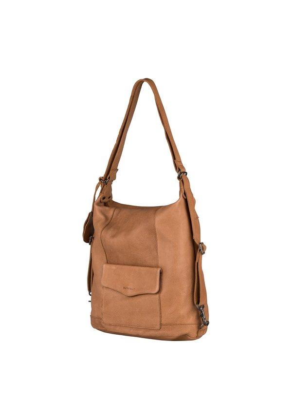 Just Jackie Backpack 2-Way Cognac