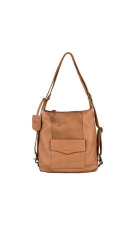 Burkely Just Jackie Backpack 2-Way Cognac