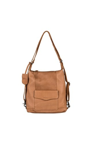 Burkely Just Jackie Backpack 2-Way Cognac