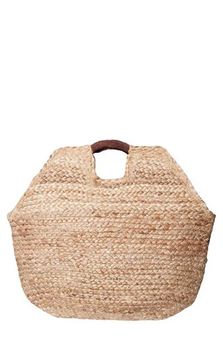 Pieces Charlie Straw Bag