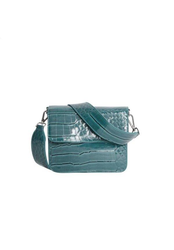 Cayman Shiny Strap Bag Blue