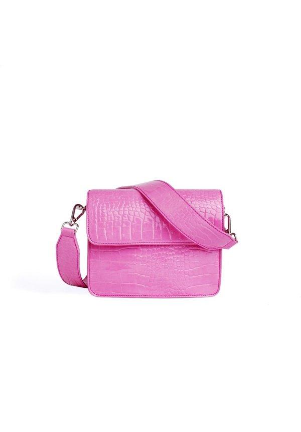 Cayman Shiny Strap Bag Pink