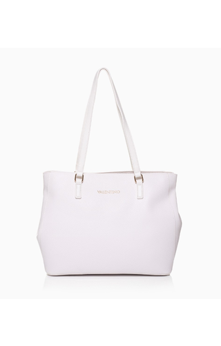 Valentino Handbags Superman Tote White