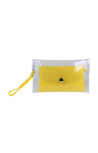 Baggyshop Transparent Bag Yellow