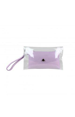Baggyshop Transparent Bag Lila