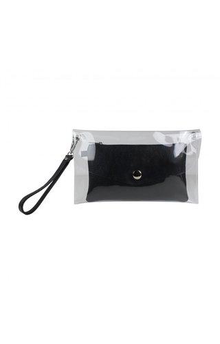 Baggyshop Transparent Bag Black