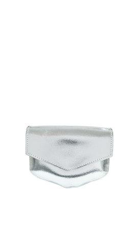 Elvy Kelly Metallic Silver