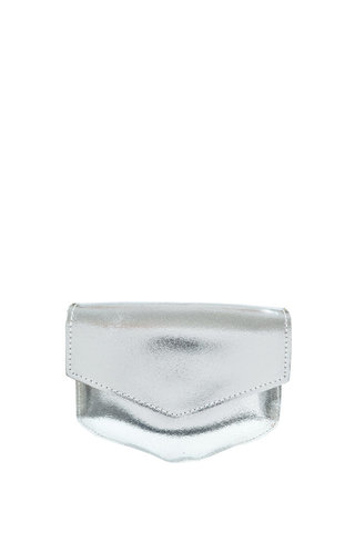 Elvy Kelly Metallic Silver