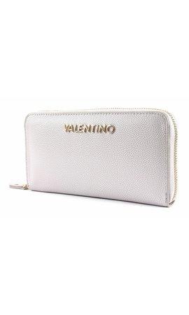 Valentino Handbags Divina Zip Around Wallet Ghiaccio
