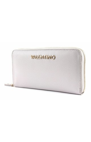 Valentino Handbags Divina Zip Around Wallet Ghiaccio