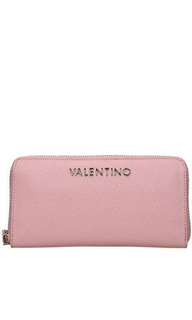 Valentino Handbags Divina Zip Around Wallet Cipria