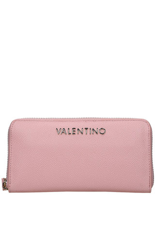 Valentino Handbags Divina Zip Around Wallet Cipria
