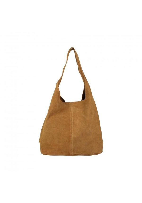 Baggy bag cognac