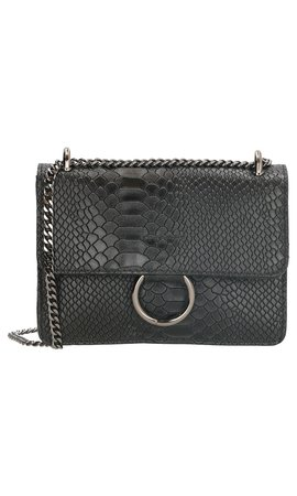 IT BAGS Ring Croco Bag Zwart