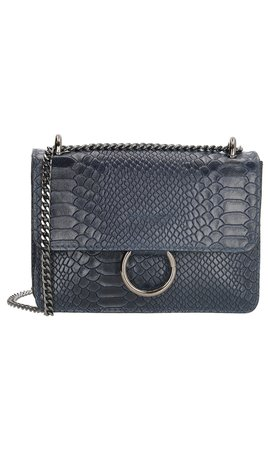 IT BAGS Ring Croco Bag Navy