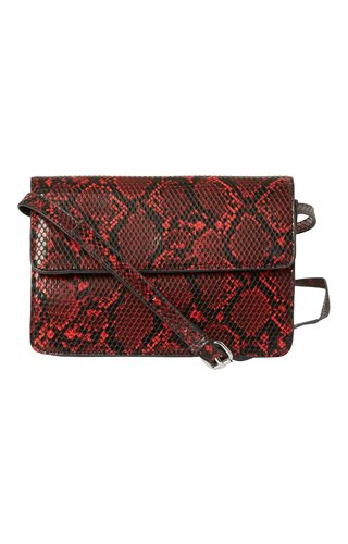 Pieces Julie Crossbody Snake Racing Red