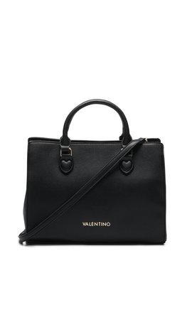 Valentino Handbags Flauto Handtas Zwart