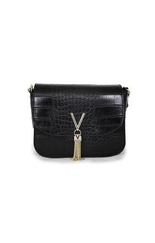 Valentino Handbags Audrey schoudertas Croco Zwart