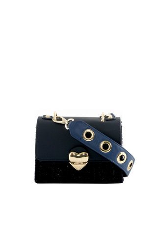 Valentino Handbags Guitar Schoudertas Blauw