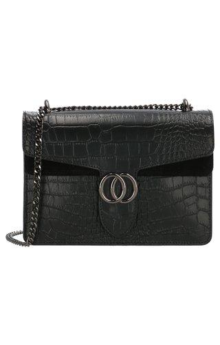 IT BAGS Inspired Snake Bag Zwart
