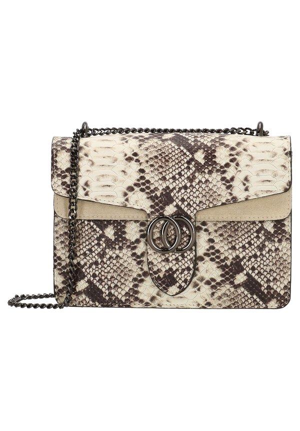 Inspired Snake Bag Taupe
