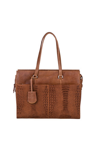 Burkely About Ally Workbag Cognac
