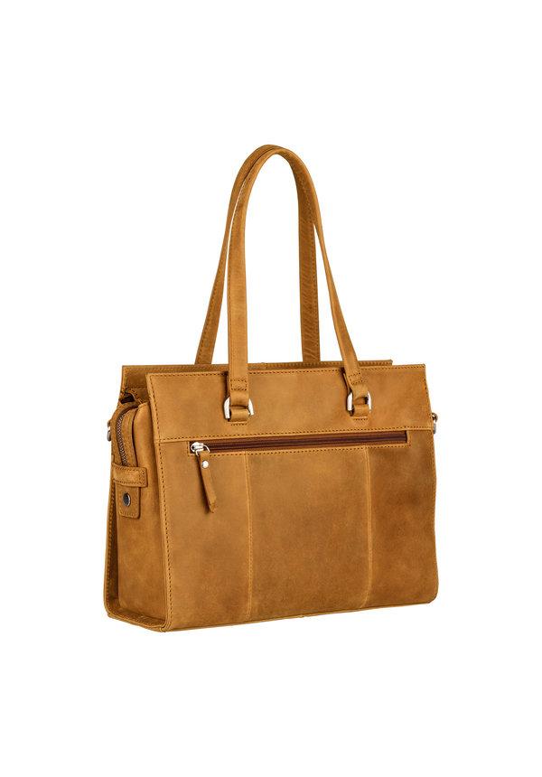 About ally handbag S ochre geel