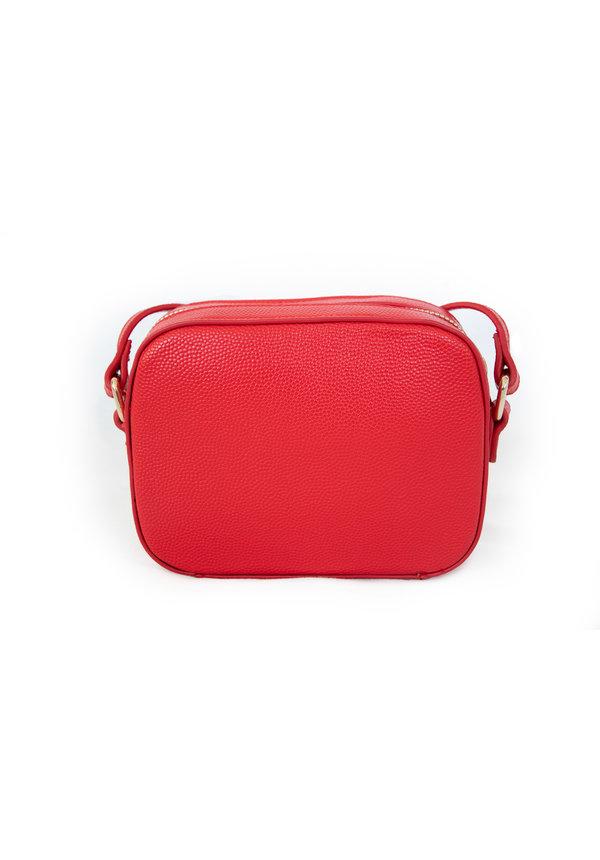 Divina schoudertasje box rood
