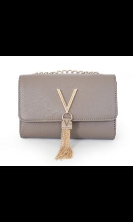 Valentino Handbags Divina Schoudertasje Taupe