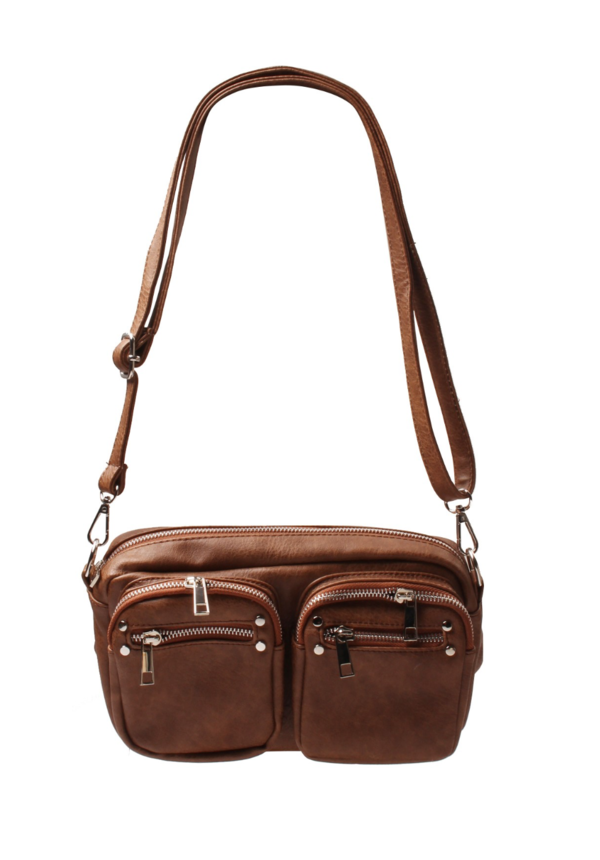 Front Pockets Brown