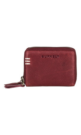 Burkely Craft Caily Wallet Double Zip Rusty Red