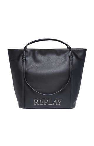 Replay Two Way Tote Black