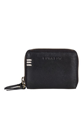 Burkely Craft Caily Wallet Double Zip Zwart