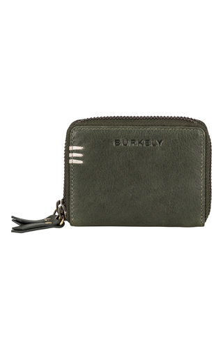 Burkely Craft Caily Wallet Double Zip Riffle Green