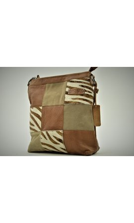 Bag2Bag Lagos Zebra Brown