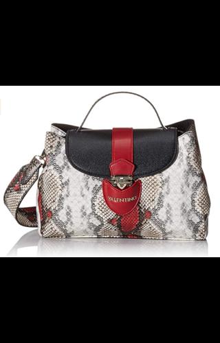 Valentino Handbags Drum Tas Rood/Snake